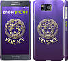 "Чехол на Samsung Galaxy Alpha G850F Versace 2 ""458c-65"""