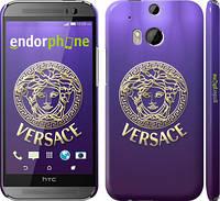 "Чехол на HTC One M8 dual sim Versace 2 ""458c-55"""