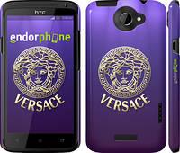 """Чехол на HTC One X+ Versace 2 """"458c-69"""""""