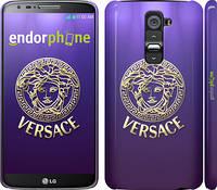 "Чехол на LG G2 Versace 2 ""458c-37"""