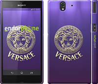"""Чехол на Sony Xperia Z C6602 Versace 2 """"458c-40"""""""