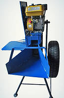 Измельчитель веток, с бензиновым двигателем и конусом, фото 1