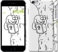 "Чехол на iPhone 6 Plus Кот Саймона. На дереве ""651c-48"""