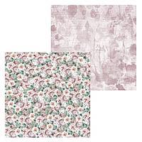 3 Лист двусторонней бумаги для скрапбукинга, коллекция Полуночные истории 30х30 см.