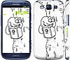 "Чехол на Samsung Galaxy S3 Duos I9300i Кот Саймона. На дереве ""651c-50"""