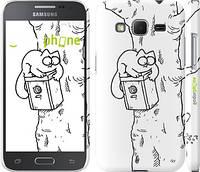 """Чехол на Samsung Galaxy Core Prime G360H Кот Саймона. На дереве """"651c-76"""""""