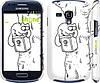 "Чехол на Samsung Galaxy S3 mini Кот Саймона. На дереве ""651c-31"""