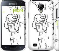 "Чехол на Samsung Galaxy S4 mini Кот Саймона. На дереве ""651c-32"""