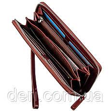 Оригинальное мужское портмоне-клатч Boston Коричневый, Коричневый, фото 2