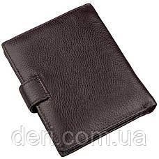 Многофункциональный мужской кошелек с карманами под документы и монеты, фото 2