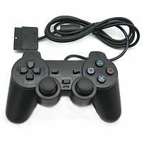 Проводной геймпад UTM Джойстик Sony PS2 Black