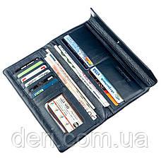 Восхитительный кошелек-клатч для женщин ST Leather 18843 Синий, Синий, фото 3