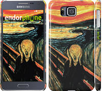 "Чехол на Samsung Galaxy Alpha G850F Крик Мунка ""2800c-65"""