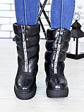 Зимові черевики - дутики шкіра 7192-28, фото 2