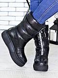 Зимові черевики - дутики шкіра 7192-28, фото 3