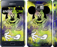 "Чехол на Samsung Galaxy S2 Plus i9105 Swag. Mickey Mouse v2 ""1070c-71"""