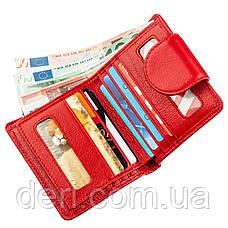 Оригинальный женский бумажник красный, фото 3
