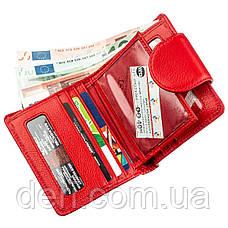 Оригинальный женский бумажник красный, фото 2