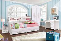 """Комплект мебели для детей коллекции """"Анжелика"""" Белый матовый"""