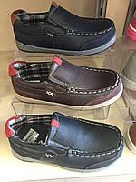 Туфли-мокасины для мальчиков Camo оптом Размеры 28-33