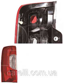 Ліхтар задній для Fiat Fiorino Qubo '08-, 2 дв. правий (DEPO)