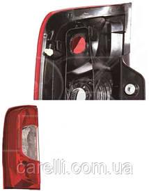 Фонарь задний для Fiat Fiorino Qubo '08-, 2 дв. левый (DEPO)