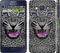 """Чехол на Samsung Galaxy A3 A300H Леопард v3 """"1088c-72"""""""