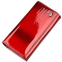 Лаковый женский кошелек ST Leather 18903 Красный, Красный