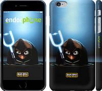 "Чехол на iPhone 6 Plus Angry birds. Star wars ""545c-48"""