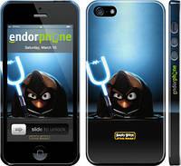 "Чехол на iPhone 5 Angry birds. Star wars ""545c-18"""