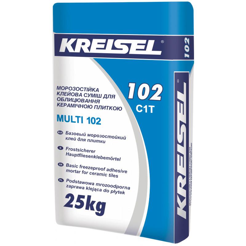 Клей для плитки Kreisel Multi 102 (Крайзель Мульти) 25 кг
