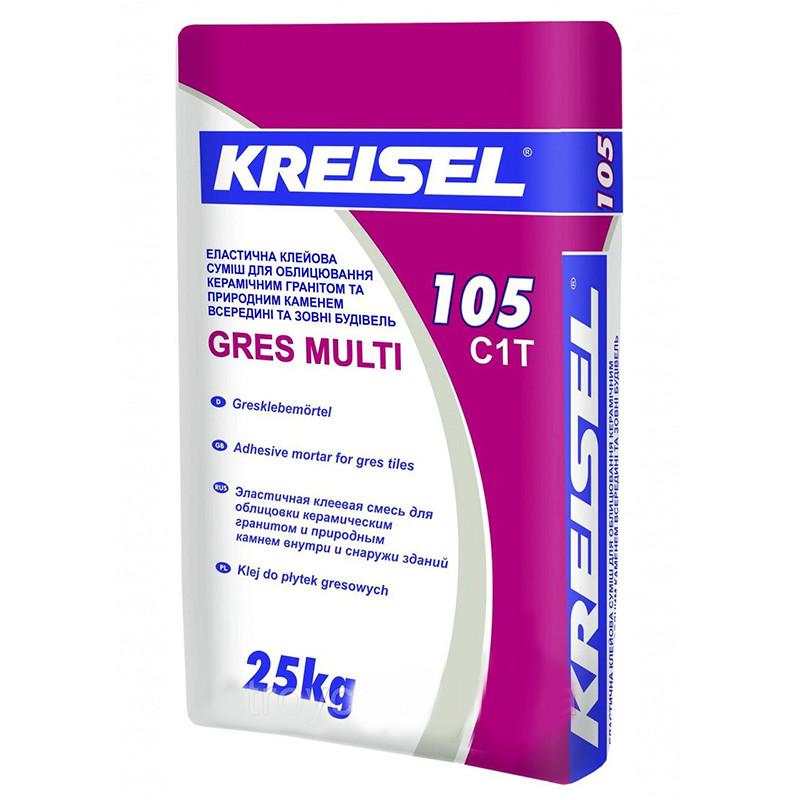 Клей для керамогранита Kreisel Gres Multi 105 (Крайзель Грес Мульти) 25 кг