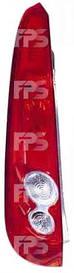 Фонарь задний для Ford Fiesta '06-08 левый (DEPO) 5 дверная