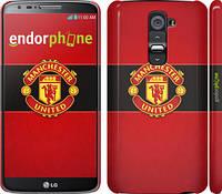 """Чехол на LG G2 Манчестер Юнайтед 3 """"997c-37"""""""