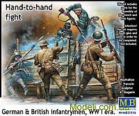 Немецкие и британские пехотинцы, Первая мировая война