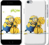 "Чехол на iPhone 6 Миньоны 3 ""297c-45"""