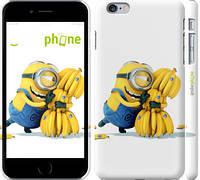 "Чехол на iPhone 6 Plus Миньоны 3 ""297c-48"""