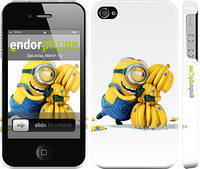 "Чехол на iPhone 4s Миньоны 3 ""297c-12"""