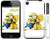 "Чехол на iPhone 3Gs Миньоны 3 ""297c-34"""