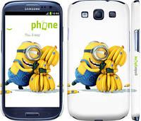 "Чехол на Samsung Galaxy S3 Duos I9300i Миньоны 3 ""297c-50"""