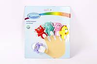 Р 268 Набор резиновых развивающих игрушек на пальцы