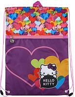 Сумка для обуви с карманом 601 Hello Kitty‑2, фото 1