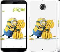 """Чехол на Motorola Nexus 6 Миньоны 3 """"297c-67"""""""