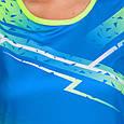Форма для легкой атлетики женская (синий-салатовый), фото 3