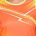 Форма для легкой атлетики женская (оранжевый-желтый), фото 2