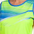 Форма для легкой атлетики женская (лимонный-син.), фото 3