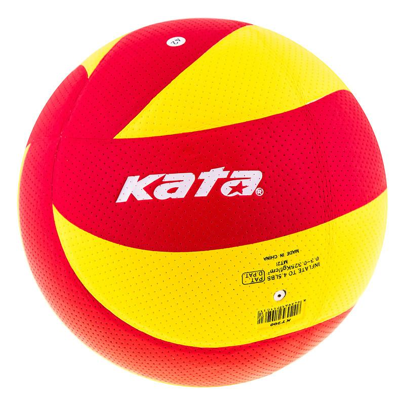 Мяч волейбольный Kata 200 PU red/yellow