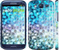 "Чехол на Samsung Galaxy S3 i9300 Переливающаяся чешуя ""227c-11"""