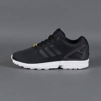 Кроссовки мужские Adidas ZX Flux Адидас черные