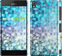 """Чехол на Sony Xperia Z3 dual D6633 Переливающаяся чешуя """"227c-59"""""""